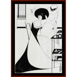 Toilette of Salome - Beardsley cross stitch pattern by Cross Stitch Collectibles | Crafting | Cross-Stitch | Other