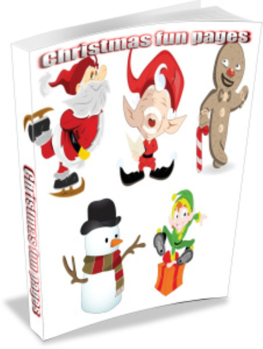 First Additional product image for - Christmas graphics, coloring pages and articles collection
