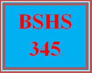 BSHS 345 Week 2 Understanding Differences Worksheet | eBooks | Education