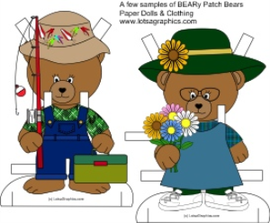 paper doll beary patch bear 1 download