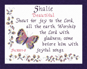 name blessings - shalie