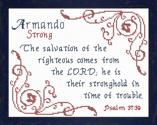 First Additional product image for - Name Blessings - Armando