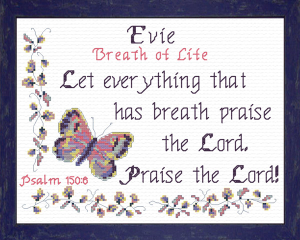 name blessings - evie