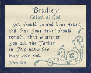 name blessings - bradley 2