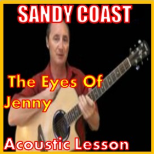learn to play the eyes of jenny by sandy coast