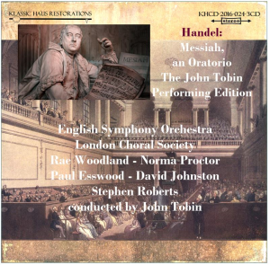 Handel: Messiah, an Oratorio - John Tobin Performing Edition | Music | Classical
