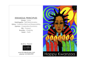 DIY Downloadable Kwanzaa Card 2016 | Documents and Forms | Templates