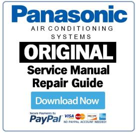 Panasonic CU2E18NBU AC System Service Manual | eBooks | Technical