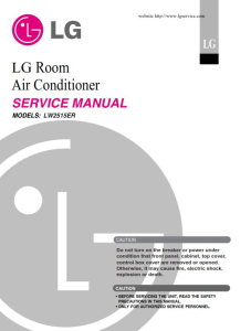 LG LW2515ER Air Conditioning System Service Manual | eBooks | Technical
