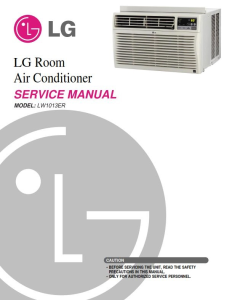 LG LW1013ER Air Conditioning System Service Manual | eBooks | Technical