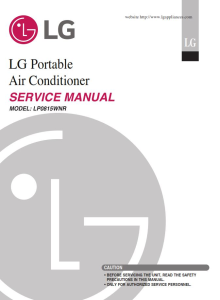 LG LP0815WNR Air Conditioning System Service Manual | eBooks | Technical