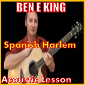 learn to play spanish harlem by ben e king