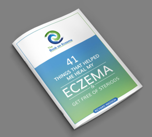 the book on eczema - 41 things that helped me heal my eczema and get free of steroids
