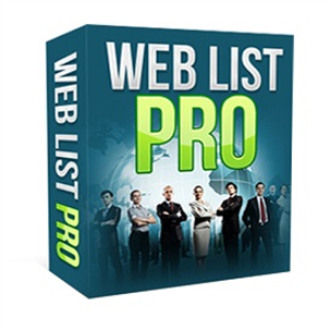 web list pro software