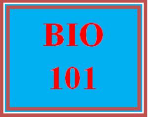 BIO 101 Entire Course | eBooks | Education