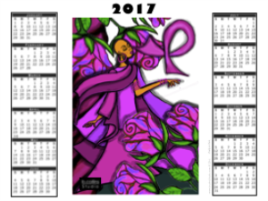 2017 Calendar - - Pretty in Pink | Other Files | Photography and Images