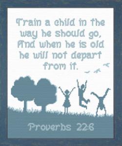 train a child 10 x 12