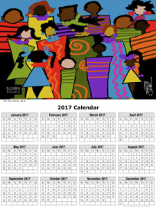 2017 calendar - - wearefamily
