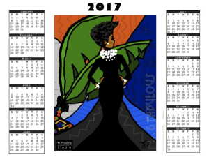 2017 calendar - fabulous