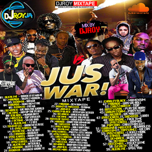dj roy jus war dancehall mix 2017
