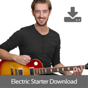 Andy's Electric Guitar Starter Course [videos, backing tracks + TAB] | Movies and Videos | Educational