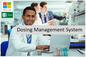 Dosing Management System for MS Excel | Software | Add-Ons and Plug-ins