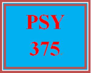 PSY 375 Week 5 Developmental Stages Matrix | eBooks | Education