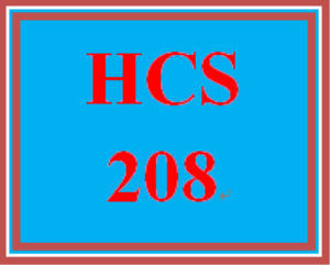 HCS 208 Week 3 Regulatory Agency Information Resource | eBooks | Education