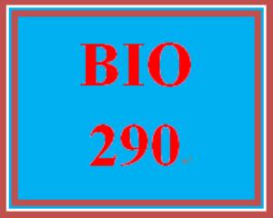 BIO 290 Week 3 WileyPLUS Worksheets | eBooks | Education