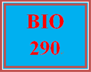 BIO 290 Week 5 WileyPLUS Worksheets | eBooks | Education