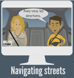 Suivez mes directions Sketch Video (Modifiable Version) | Movies and Videos | Educational