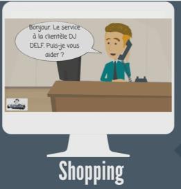 Faisons du shopping Sketch Video (Version: Henri et moi) | Movies and Videos | Educational