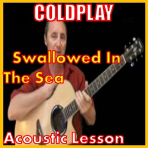 learn to play swallowed in the sea by coldplay