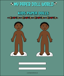 paper doll boy african american friend 3 download