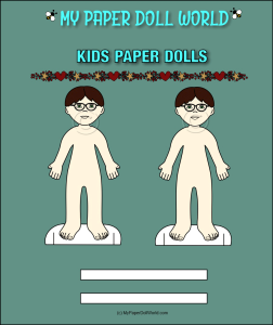 paper doll boy white friend 2 download