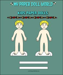 paper doll boy white friend 4 download