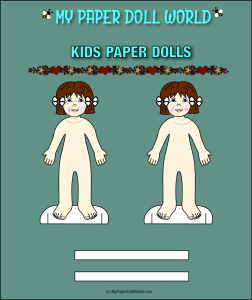 paper doll girl white friend 2 download