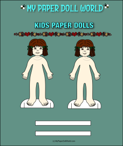 paper doll girl white friend 4 download