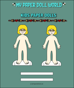 paper doll girl white friend 5 download