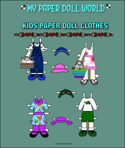 paper doll w kids clothing set 1 download