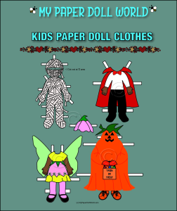 paper doll aa kids halloween costumes 2 download