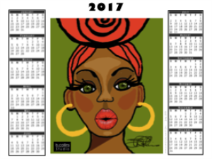 2017 Calendar - - LUCY | Documents and Forms | Templates