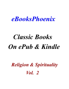 eBooksPhoenix Classic Books Religion & Spirituality Vol. 2 | eBooks | Religion and Spirituality