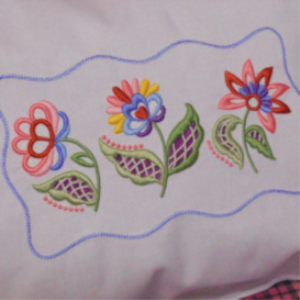 Nancy's Jacobean Cutwork XXX | Crafting | Embroidery