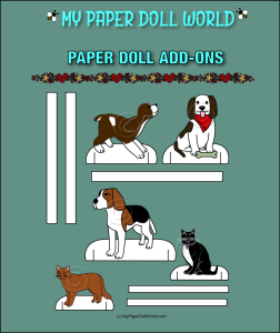 paper doll pets download