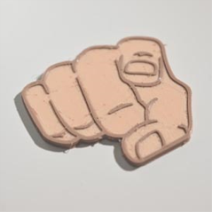 i want you : dual color 3d printable badge-decal-sticker