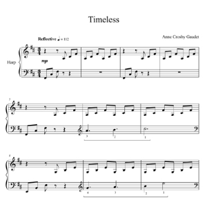 timeless, harp solo