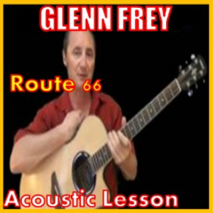 learn to play route 66 by glenn frey