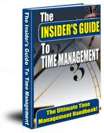 The Insider's Guide  To Time Management | eBooks | Self Help
