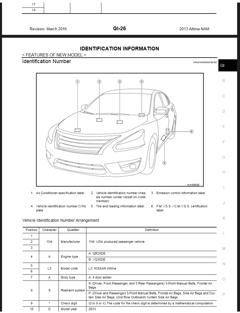 2013 2014 nissan altima l33 service repair manual. Black Bedroom Furniture Sets. Home Design Ideas